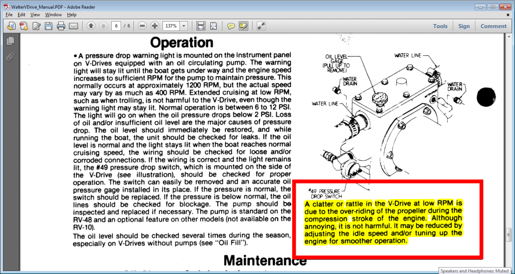 Walter VDrive Manual